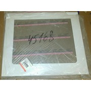 045168 #OVEN DOOR GLASS WHITE INDESIT (398x474mm) _РАСПРОДАЖА {1}