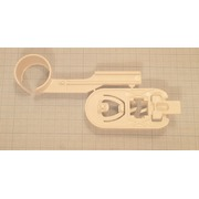 A606188 Держатель (Holder - cover with hose clip ), зам.619779 {0}