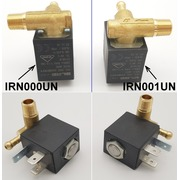 IRN000UN IRON VALVE 90° 1/8 MALE RIGHT-SIDE OUTLET  {}